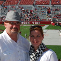Eric and Stacy, Roll Tide, Alabama