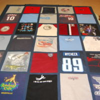 T-shirt Quilt for Caleb