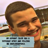 wholehearted, Caleb