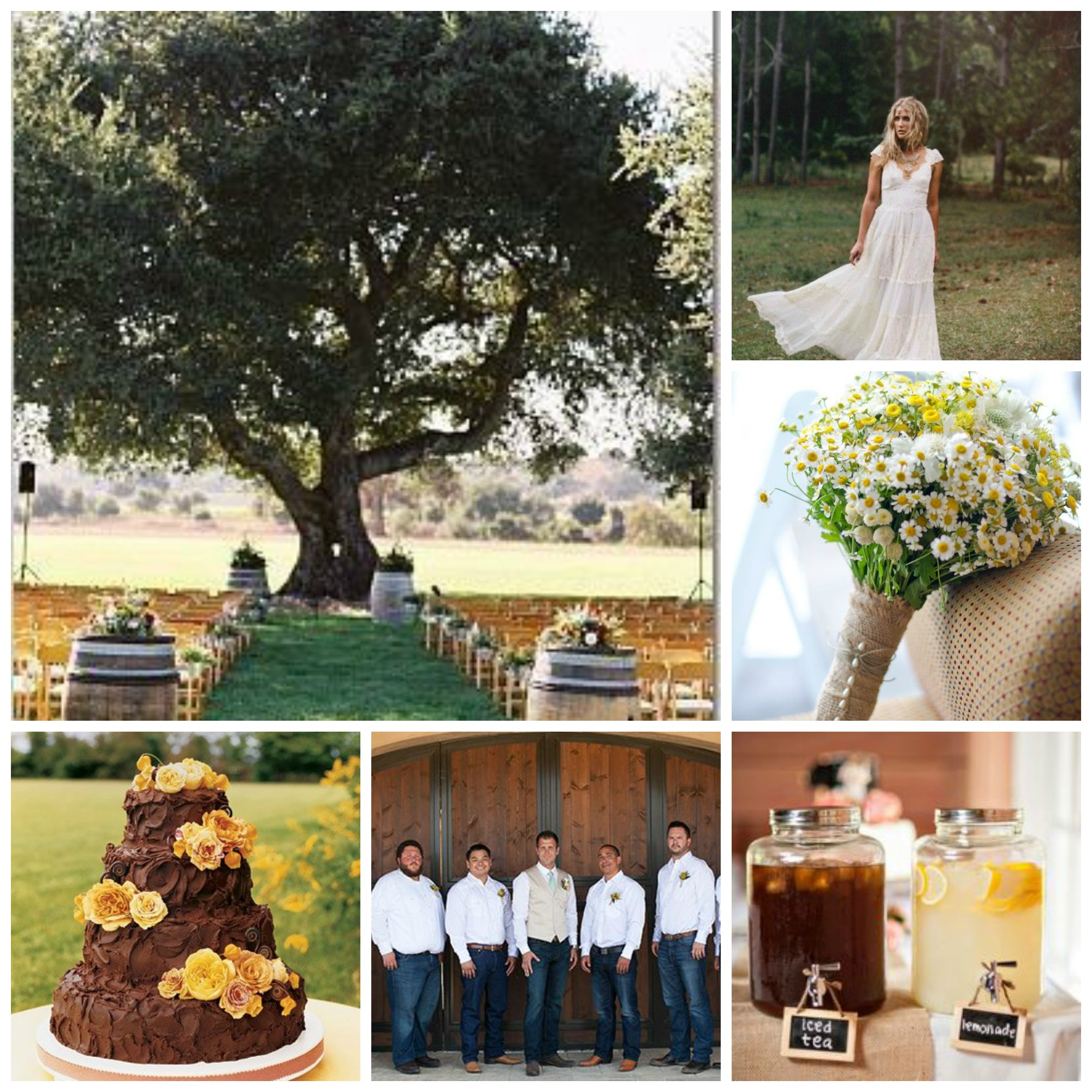 weddings, simple, country