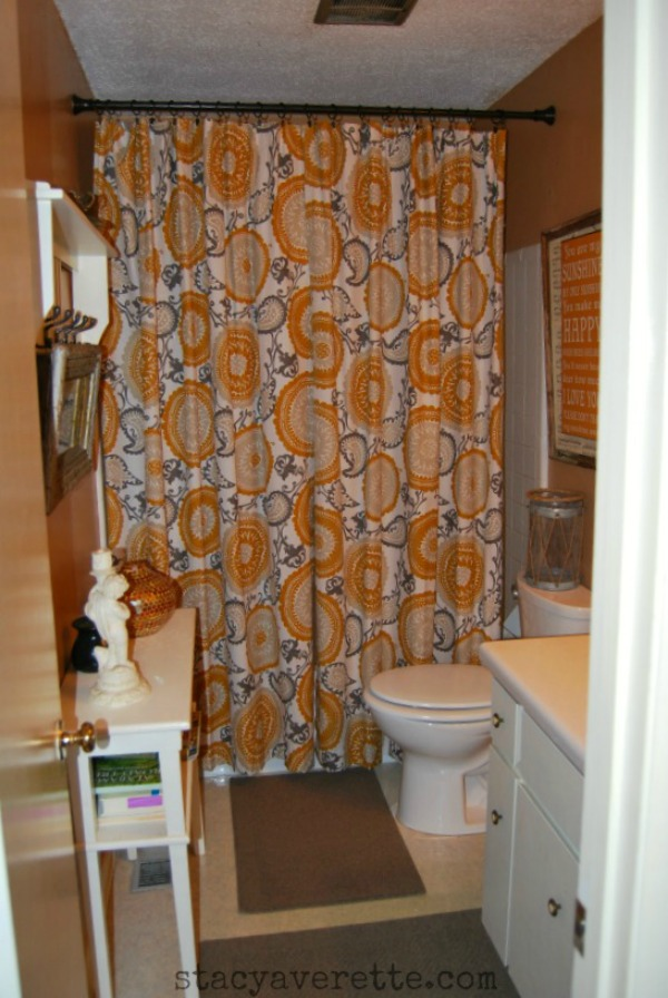 thrifty style, bathroom makeover, Target