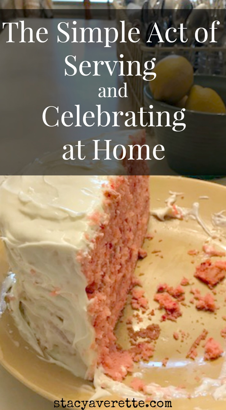 I have to be careful not to see the celebration as a reflection of my abilities to cook/plan/decorate or my dedication as a mother and homemaker. And in a day when we share everything on social media, it's easy to feel the pressure and compare ourselves to what others are doing.