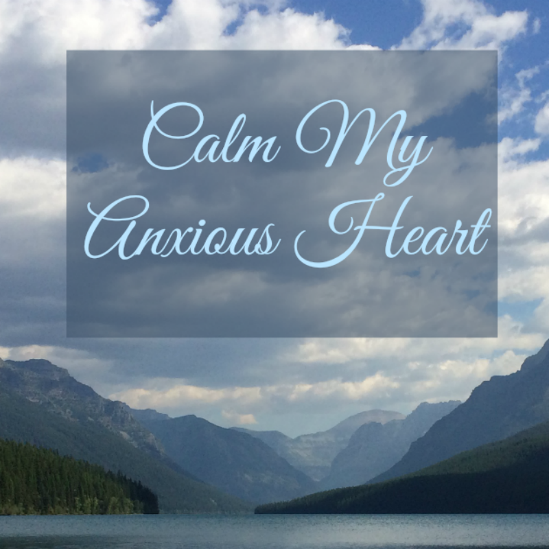contentment, worry, anxiety, calm my anxious heart, life without worry
