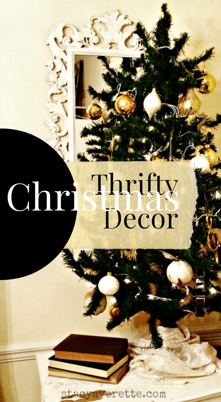 Thrifty christmas decor home tour stacy averette for Thrifty decor
