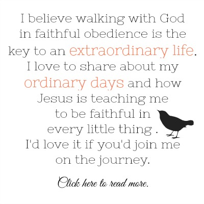 walk with God, extraordinary life,