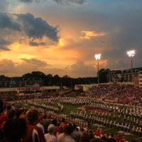 JSU sunset