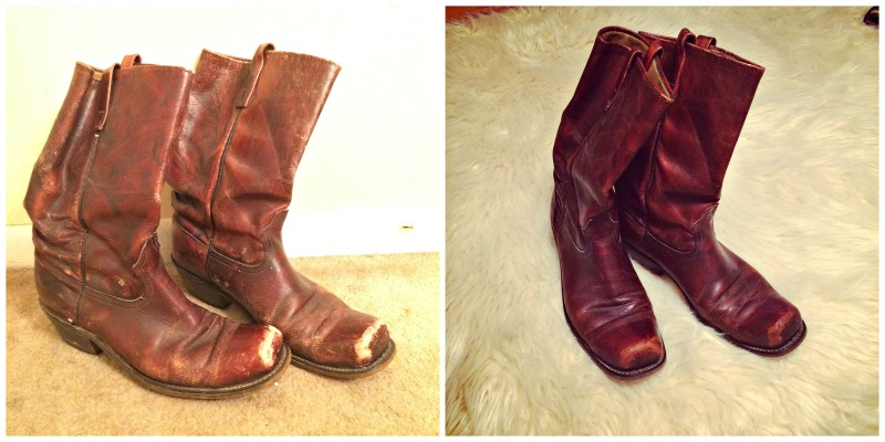 thrifty thrifty fashion, cowboy boots, vintage boots