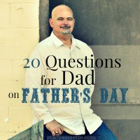 20 Questions for Father's Day