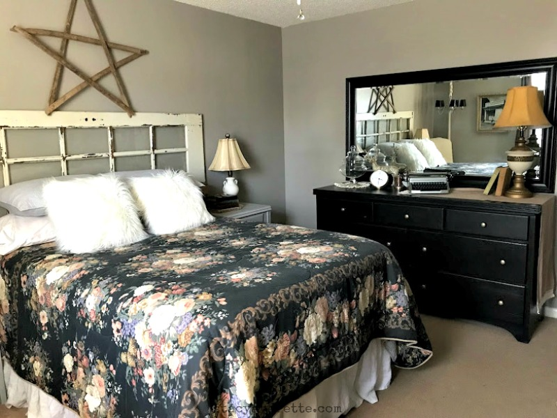 guest room on a budget, guest room ideas, glidden paint, ace hardware