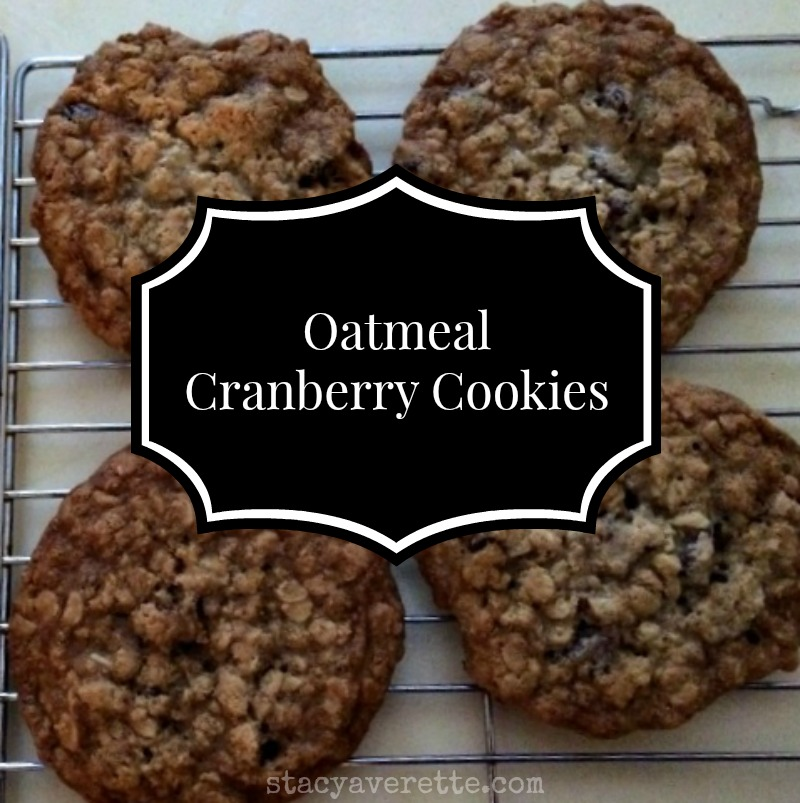 easy oatmeal cookies; snow day