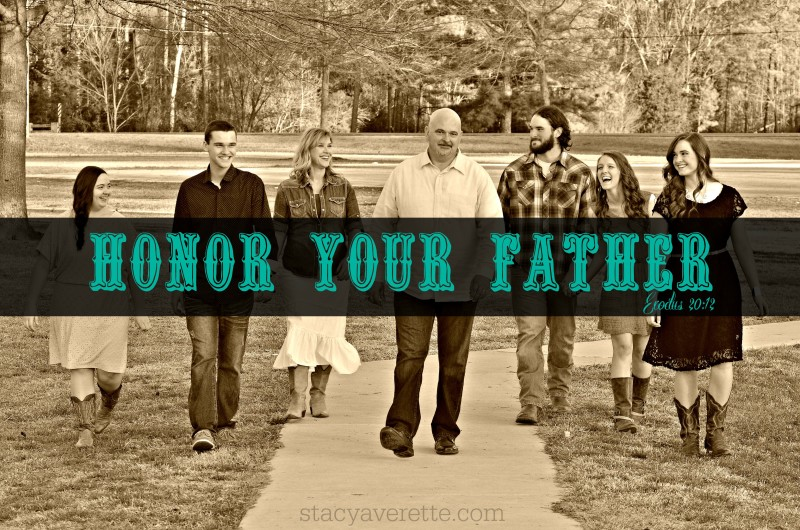 questions for dad, Exodus 20:12, celebrate