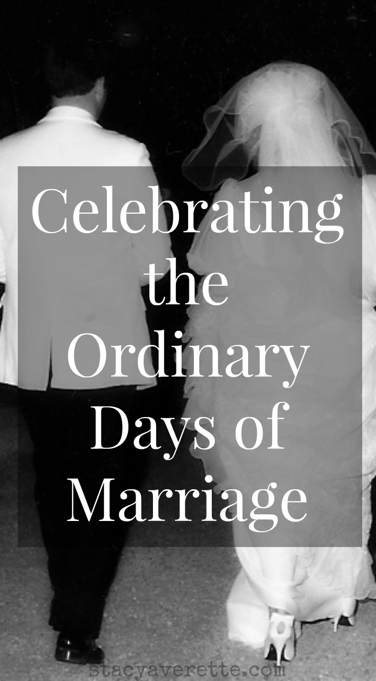 ordinary day, marriage, married life, happily ever after, staying married,