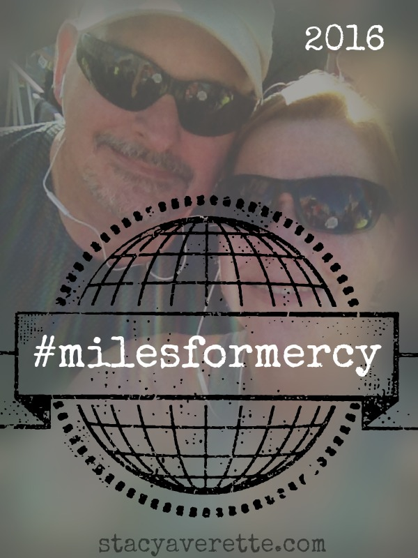 Miles for Mercy, running, marriage, mercy house