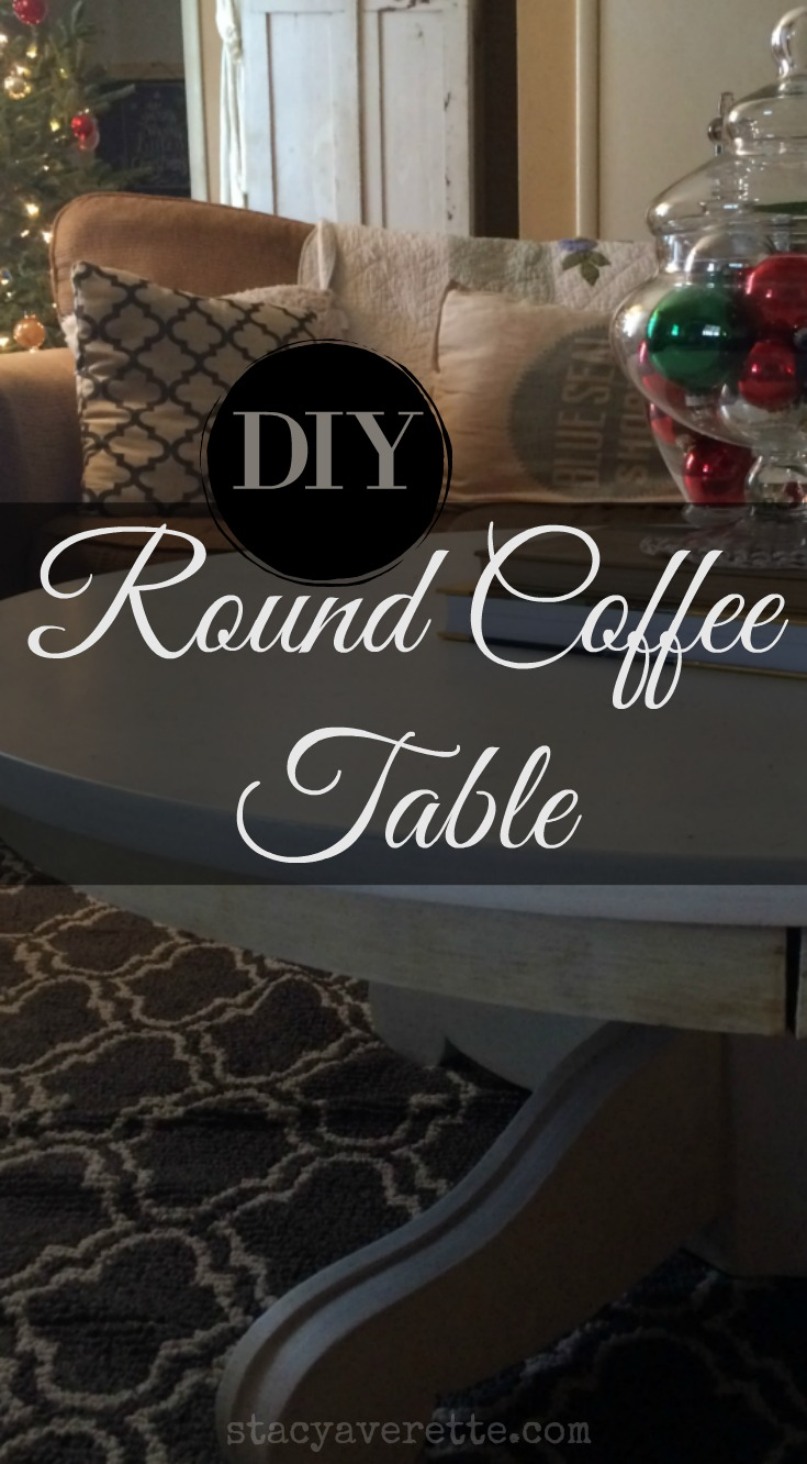 DIY, round coffee tableDIY, round coffee table, chalk paint coffee table, chalk paint recipe