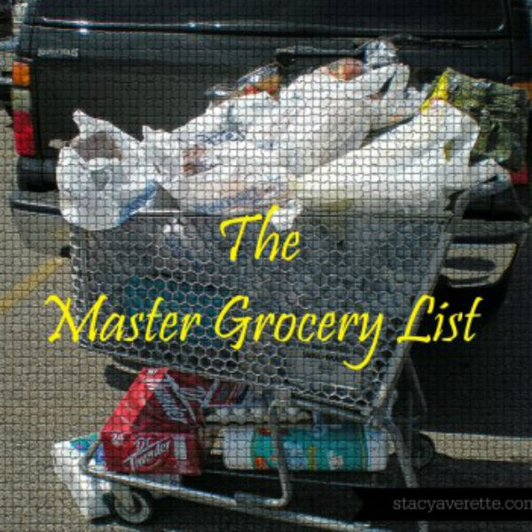 The Meal Planning Toolkit: The Master Grocery List