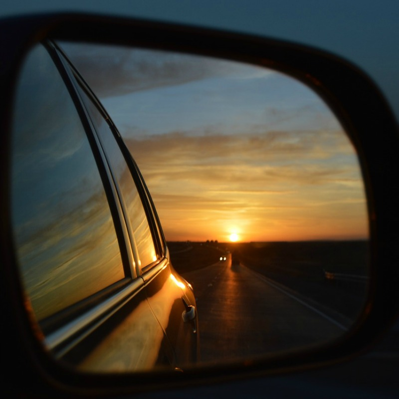 LIFE IN THE REAR VIEW MIRROR {April, May, June}